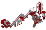 Powercat - Model B Up to 1000 kg/h - Cable Recycling Plant