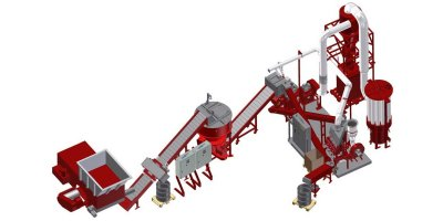 Redoma - Model Powercat B - Cable Recycling Plant - Up to 1000 kg/h