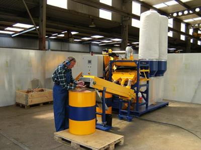 Redoma - Model Thunderhawk A and B - Cable Recycling Plant - Up to 450 kg/h