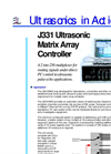 UMAC -Ultrasonic Matrix Array Controller Brochure