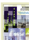 E!CEMS™,  Environmental Data Management System Brochure