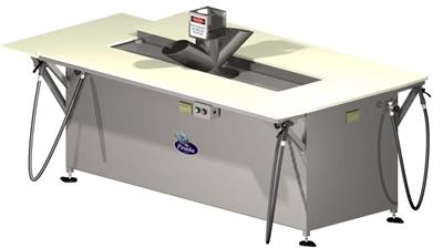 Piranha - Model 60115 - Fish Cleaning and Grinder Station