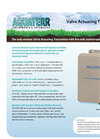 Aquaterr - Model VAT 16/32 - Irrigation Valve Actuating Transmitters Datasheet