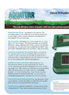 Aquaterr - Box Mounted Irrigation Valve Actuating Receiver Datasheet