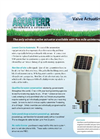 Aquaterr - Pole Mount Irrigation Valve Actuating Receiver Datasheet