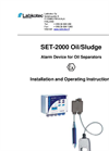 SET-2000 Oil/Sludge Alarm Device With Two Probes Brochure