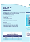 BIO JET - Model 7 - Ammonia Away Non-Hazardous Chemical Brochure