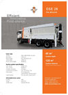 Model ESE 26 - Suction Excavator- Brochure