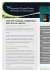 Gasplasma Treatment of Hazardous & Special Wastes Datasheet