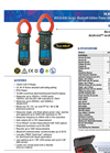 Clamp-On Meters  407 Series- Brochure