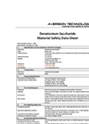 Denatonium Saccharide Material Safety Data Sheet