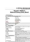 Repela Para Material Safety Data Sheet