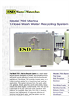 Model 750 Marina - 1-Hose Wash Water Recycling System Brochure