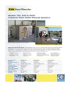 Models 750, 850 & 5000 - Industrial Wash Water Recycle Systems Brochure