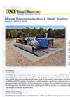 Model MDCS-1-20-40 - Mobile Decontamination & Wash Station Brochure