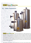 Air/Water Separators - Brochure
