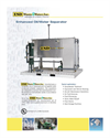 ESD - Model OWS-10 to OWS-80 Series - Oil/Water Separators Datasheet
