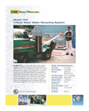 Model 750 - 1-Hose Wash Water Recycling System Datasheet