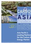 Carbon Forum Asia 2013 Brochure