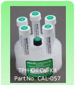 TPH-Oil Calibration Kit - Model CAL-057 - Use with UVF-3100D for Testing TPH Oil & Grease