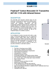 PolyGard Carbon Monoxide CO Transmitter ADT-D3 1110 with Infrared Sensor