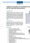 PolyGard Transmitter for Combustible Gases ADT-D3 34XX with Infrared Sensor