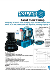 Axial & Mixed Flow  Pumps