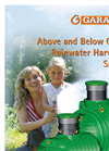 Above  And Below Ground Rainwater Harvesting Systems Brochure