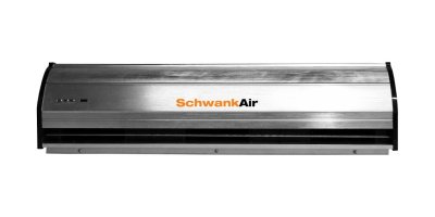 SchwankAir - Model 1000 Series - High Efficiency Air Curtain