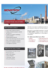 Novatech - Model CEMS - Continuous Emissions Monitoring Systems - Brochure
