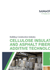 Cellulose Insulation and Asphalt Fiber Additive Technology Brochure