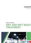 Dry and Wet Waste Treatment Systems Brochure