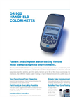 DR 900 Multiparameter Handheld Colorimeter Data Sheet