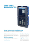 Hach - Model 5500sc - Silica Analyzer Datasheet