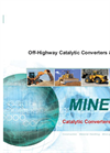 Model MINE-X - Catalytic Converters Brochure