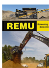 REMU - Model SC - Screener Crusher Module Brochure