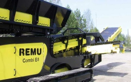 REMU - Model Combi E8 - Screening Plant