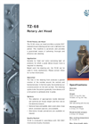TZ-68 - Rotary Jet Head Tank Cleaning Machine Brochure