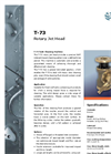 Oreco - T-73 - Rotary Jet Head Tank Cleaning Machine Brochure