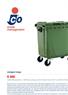 Cassonetto - Model Lt 660 - Large Wheeled Bin Brochure