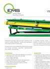 EMS VF2500 Vibraflow Screening Machine Brochure