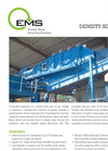 EMS Model DS3500 Density Separator Brochure
