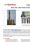 Tekran - Model 1306 - Water Filtration System - Brochure