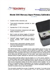 Tekran - Model 2505 - Mercury Vapor Primary Calibration Unit - Brochure