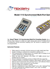 Tekran - Model 1115 - Synchronized Multi-Port Sampling System - Brochure
