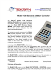 Tekran - Model 1120 - Standard Addition Controller - Brochure