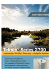 Tekran - Model 2700 Series - Automated Methyl Mercury Analysis System - Brochure