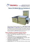 Tekran - Model 2750 - Methyl Mercury Distillation System - Brochure