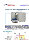 Tekran - Model 2700 - Automated Methyl Mercury Analysis System - Datasheet