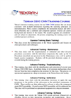 Tekran - Model 3300 CMM - Training Course - Brochure